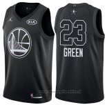 Maglia All Star 2018 Golden State Warriors Draymond Green NO 23 Nero