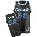 Maglia Orlando Magic Shaquille O'Neal NO 32 Throwback Nero