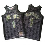 Maglia Orlando Magic Tracy McGrady NO 1 Throwback Nero2