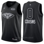 Maglia All Star 2018 New Orleans Pelicans Demarcus Cousins NO 0 Nero