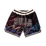 Pantaloncini Chicago Bulls Just Don Nero4