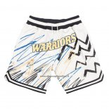 Pantaloncini Golden State Warriors Just Don Bianco
