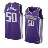Maglia Sacramento Kings Caleb Swanigan NO 50 Icon 2018 Viola