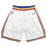 Pantaloncini Golden State Warriors Hardwood Classics 2019-20 Bianco