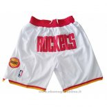 Pantaloncini Houston Rockets Just Don Bianco