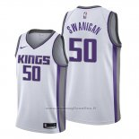 Maglia Sacramento Kings Caleb Swanigan NO 50 Association Bianco