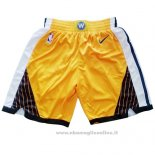 Pantaloncini Golden State Warriors Earned 2018-19 Giallo