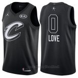 Maglia All Star 2018 Cleveland Cavaliers Kevin Love NO 0 Nero