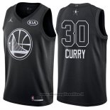 Maglia All Star 2018 Golden State Warriors Stephen Curry NO 30 Nero