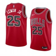 Maglia Chicago Bulls Walt Lemon JR. NO 25 Statement 2018 Neror