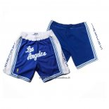 Pantaloncini Los Angeles Lakers Retro Blu2
