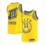 Maglia Golden State Warriors Draymond Green #11 Classic 2019-20 Giallo