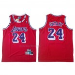 Maglia Los Angeles Lakers Kobe Bryant NO 24 Rosso6