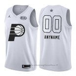 Maglia All Star 2018 Indiana Pacers Nike Personalizzate Bianco