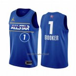 Maglia All Star 2021 Phoenix Suns Devin Booker #1 Blu