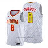 Maglia Atlanta Hawks Isaac Humphries NO 8 Bianco Association