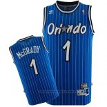 Maglia Orlando Magic Tracy McGrady NO 1 Throwback Blu
