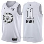 Maglia All Star 2018 Boston Celtics Kyrie Irving NO 11 Bianco