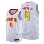 Maglia Atlanta Hawks Charlie Brown JR. NO 4 Association Bianco