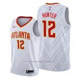 Maglia Atlanta Hawks De'andre Hunter NO 12 Association Bianco