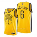 Maglia Golden State Warriors Alen Smailagic NO 6 Earned Giallo