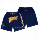 Pantaloncini Golden State Warriors Just Don Blu