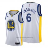 Maglia Golden State Warriors Alen Smailagic NO 6 Association Bianco