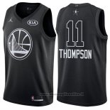 Maglia All Star 2018 Golden State Warriors Klay Thompson NO 11 Nero