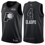 Maglia All Star 2018 Indiana Pacers Victor Oladipo NO 4 Nero