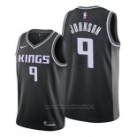 Maglia Sacramento Kings B.j. Johnson NO 9 Statement Nero