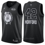 Maglia All Star 2018 Boston Celtics Al Horford NO 42 Nero