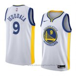 Maglia Golden State Warriors Andre Iguodala NO 9 Association 2018 Bianco