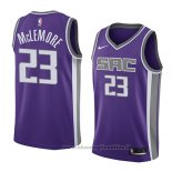 Maglia Sacramento Kings Ben Mclemore NO 23 Icon 2018 Viola