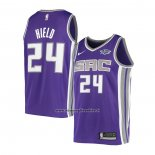 Maglia Sacramento Kings Buddy Hield #24 Icon Viola