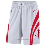 Pantaloncini Houston Rockets 2017-18 Bianco