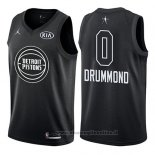 Maglia All Star 2018 Detroit Pistons Andre Drummond NO 0 Nero