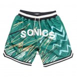 Pantaloncini Seattle SuperSonics Just Don Verde