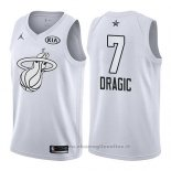 Maglia All Star 2018 Miami Heat Goran Dragic NO 7 Bianco