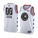 Maglia All Star 2019 Indiana Pacers Personalizzate Bianco