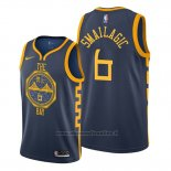Maglia Golden State Warriors Alen Smailagic NO 6 Citta Blu