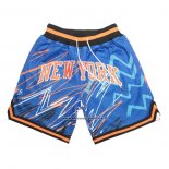 Pantaloncini New York Knicks Just Don Blu2