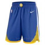 Pantaloncini Golden State Warriors 2017-18 Blu
