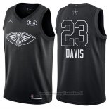Maglia All Star 2018 New Orleans Pelicans Anthony Davis NO 23 Nero