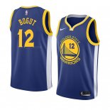 Maglia Golden State Warriors Andrew Bogut NO 12 Icon 2018 Blu