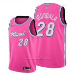 Maglia Miami Heat Andre Iguodala NO 28 Earned 2019-20 Rosa