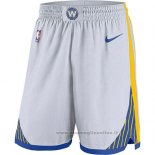 Pantaloncini Golden State Warriors 2017-18 Bianco2