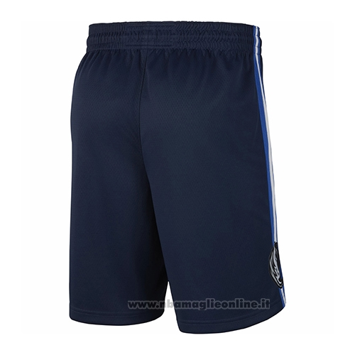 Pantaloncini Dallas Mavericks Statement 2019 Blu